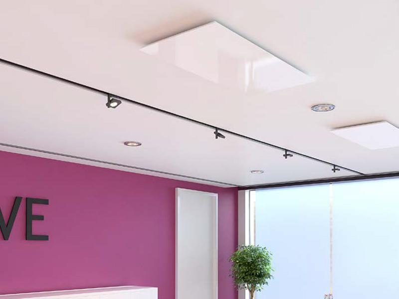 pannelli radianti a soffitto per scuole