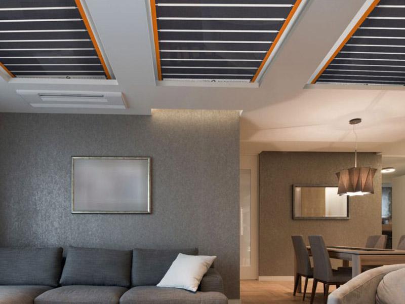 riscaldamento elettrico a soffitto