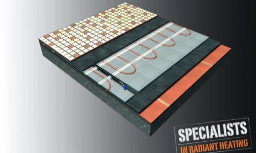 Costruzione del pavimento - Sistema di riscaldamento diretto  - ristrutturazione